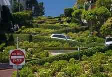 Bendy SF Lombard Street CA