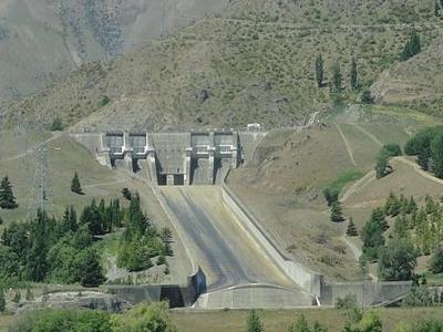 Benmore Dam Spillways