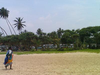 Bentota Beach - View