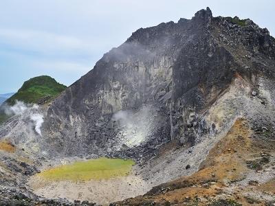 Berastagi Sibayak Volcano - North Sumatra