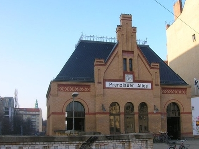 Berlin Prenzlauer Allee Station