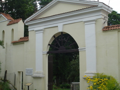 Entrance To The Cemetery