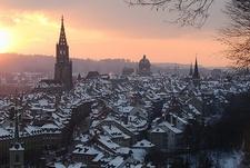 Bern Winter View