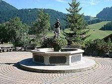Berwanger Dorfbrunnen Tyrol Austria
