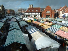 Beverley On Market Day