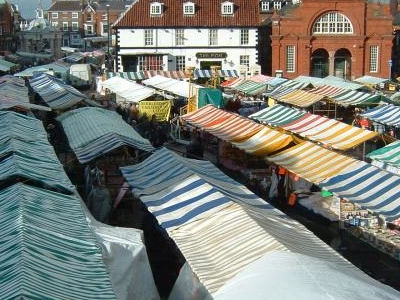 Beverley On Market Day