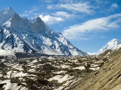 Bhagirathi Parvat & Gangotri Glacier UT Himalayas