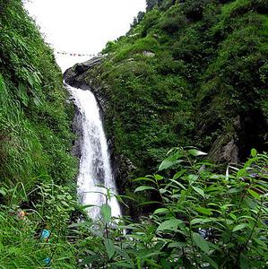 Bhagsu's Water Fall At McLeod Ganj