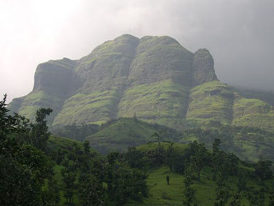 Bhandardara-Mountains Around Bhandara