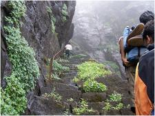 Bhandardara Steep Climb