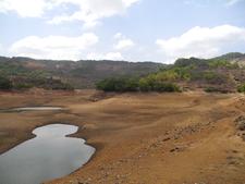 Bhushi Dam Dry Pools