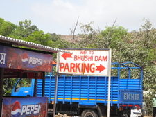 Bhushi Dam Parking Area