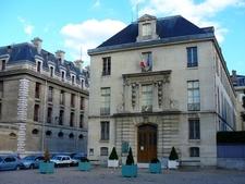 Entrance To The Bibliothèque De L'Arsenal