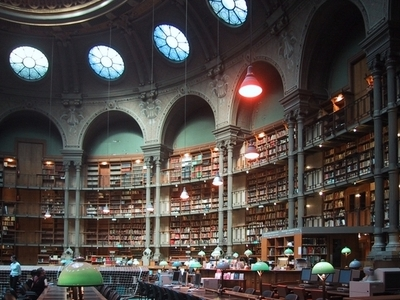 Bibliotheque Nationale De France Reading Room