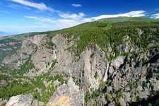 Big Horn National Forest Wilderness In Wyoming