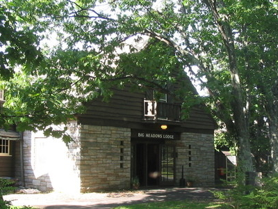 Entrance To The Big Meadows Lodge