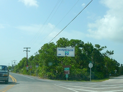 Big  Pine  Key Intersection