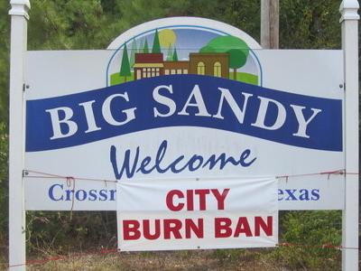 Big  Sandy Sign