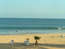 Big Waves At Topanga Beach