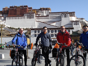 Lhasa to Kathmandu Mountain Bike Tour Photos