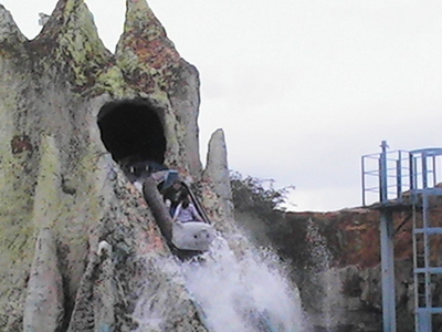 Logflume At Barry Island