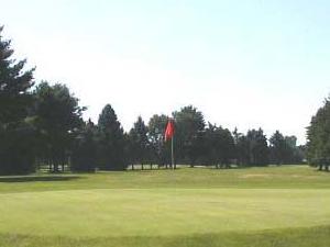 Abedul campo de golf de Plain & Driving Range
