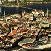 Bird's Eye View Of Riga