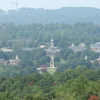 Birds Eye View Of The Samford University Campus