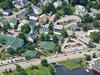 Birds Eye View Of Meredith Village