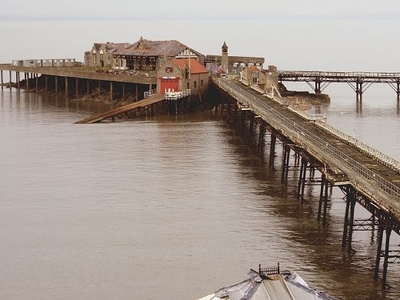 Birnbeck  Pier And  Island