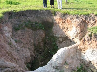 Birzai Sinkhole