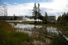 Biscuit Basin Trail - Yellowstone - USA