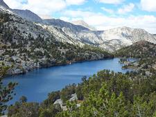 Bishop Pass Trail Views
