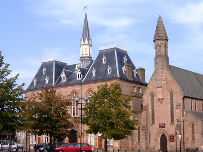 Bishop  Auckland  Town  Hall