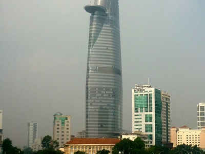 View Of Bitexco Financial Tower