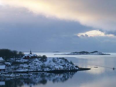 Bjugnfjorden With Bjugn Church