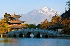 Black Dragon Pool Park Pavilion - Yunnan Lijiang