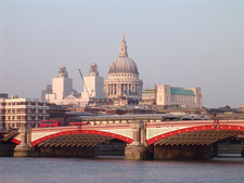 Blackfriars Bridge With St Paul's Cathedral