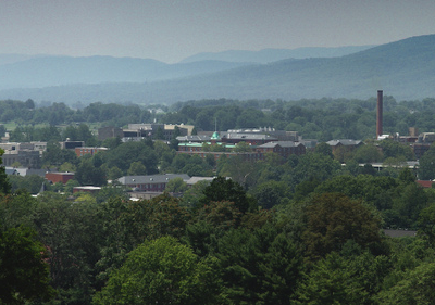 Overlooking Blacksburg