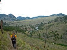Blacktail Deer Creek Trail - Yellowstone - USA