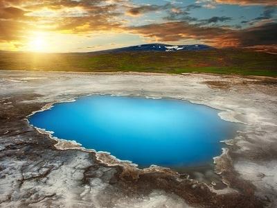 Blahver At Hveravellir - Iceland