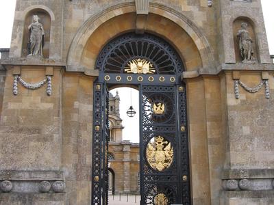 Blenheim Palace - East Gate