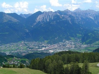 View Of The Valley Around Bludenz