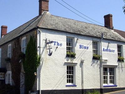 Blue  Anchor  Pub  Somerset