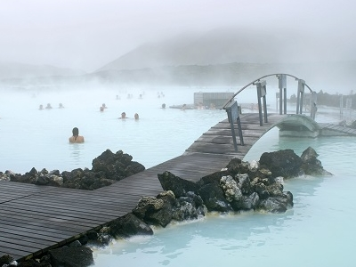 Blue Lagoon Hot Springs Area