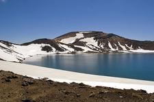 Blue Lake - Tongariro Crossing
