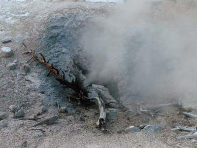 Blue Mud Steam Vent