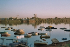 Blue Nile @ Khartoum In Sudan