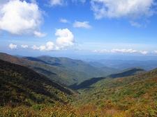 Blue Ridge From Craggy Near Asheville NC