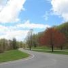 Blue Ridge National Parkway In Virginia